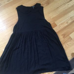 Black forever 21 collared dress
